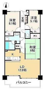 マンション(建物一部)-神戸市北区有野町有野 南向きバルコニーのある住まい