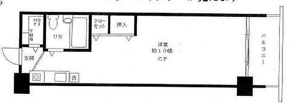 マンション(建物一部)-江東区亀戸7丁目 間取り