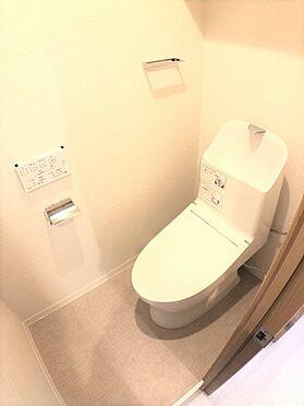 中古マンション-藤沢市大庭 トイレ