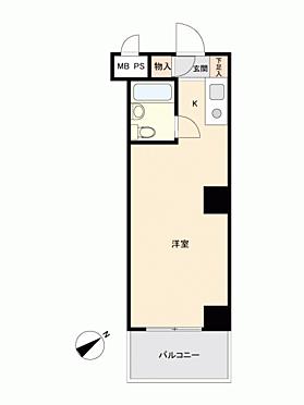 中古マンション-新宿区西新宿7丁目 間取り