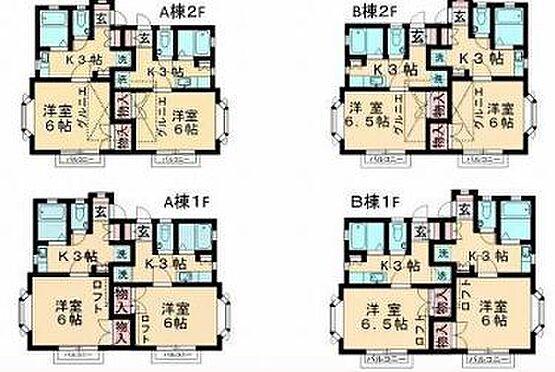 アパート-千葉市若葉区桜木1丁目 間取り