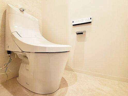 中古マンション-多摩市落合3丁目 トイレも新規交換済!ウォシュレット付です♪