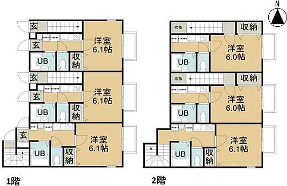 アパート-足立区梅田2丁目 間取り図