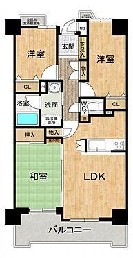 中古マンション-豊田市大林町15丁目 62.98m2のオートロック付き3LDKです!