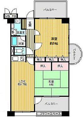 マンション(建物一部)-大阪市東住吉区桑津1丁目 使い勝手の良い2LDK
