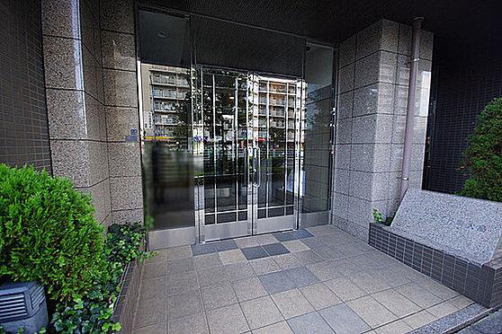 マンション(建物一部)-江東区大島7丁目 石張りのエントランス