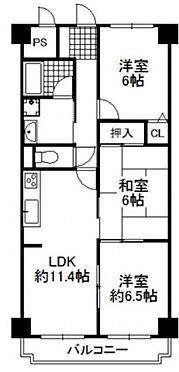 区分マンション-神戸市北区唐櫃台2丁目 間取り