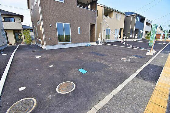 新築一戸建て-仙台市太白区富沢字六本松 駐車場
