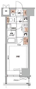 区分マンション-墨田区江東橋2丁目 間取り