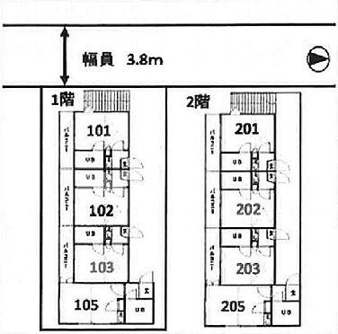 アパート-杉並区上井草1丁目 間取り図