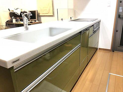 中古一戸建て-大野城市つつじケ丘6丁目 キッチンです。食洗器付きです。
