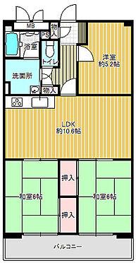 マンション(建物一部)-東大阪市新町 間取り
