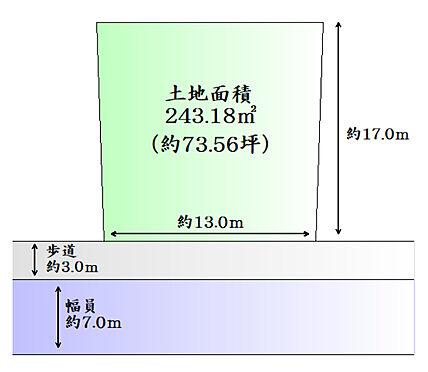 土地-遠田郡美里町字峯山 区画図