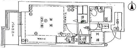 マンション(建物一部)-京都市中京区壬生相合町 西向きバルコニー