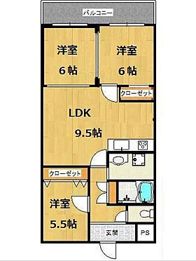 マンション(建物一部)-大阪市生野区桃谷4丁目 ファミリーにオススメの3LDK