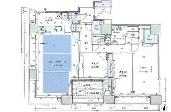 マンション(建物一部)-大阪市北区本庄西1丁目 間取り