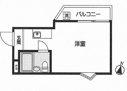 中古マンション-豊島区要町2丁目 間取り