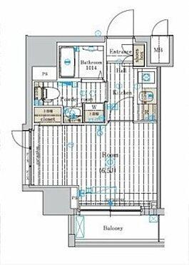 マンション(建物一部)-横浜市西区戸部本町 間取り