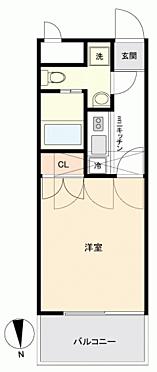 区分マンション-福岡市中央区平尾3丁目 間取り
