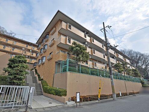 マンション(建物一部)-京都市山科区御陵大谷町 レンガ調の外観