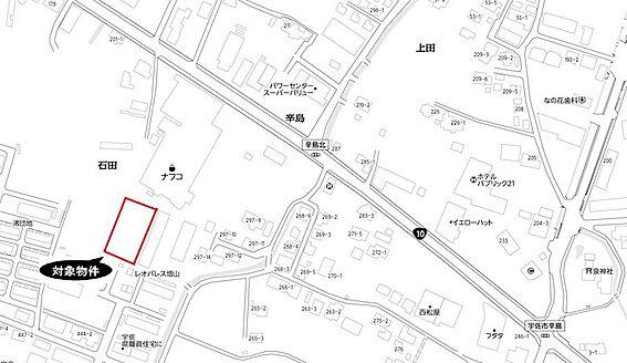 土地-宇佐市大字辛島 区画図