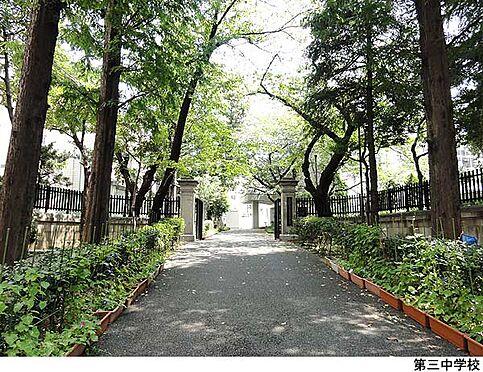 マンション(建物一部)-文京区小石川3丁目 第三中学校