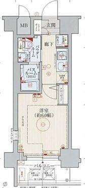 区分マンション-神戸市兵庫区湊町1丁目 間取り