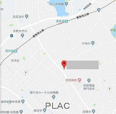 マンション(建物全部)-大田区東雪谷4丁目 地図