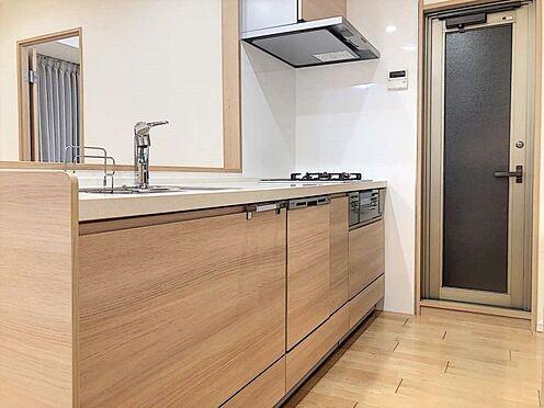 区分マンション-名古屋市西区貴生町 毎日の家事の負担を軽減してくれる食洗機完備です。