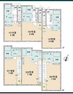 アパート-八王子市南大沢2丁目 sebosebo南大沢・収益不動産