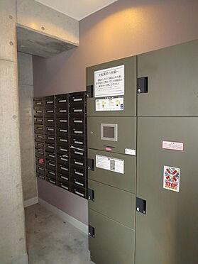 マンション(建物一部)-大阪市中央区内本町1丁目 宅配ボックスがあるからお出かけも安心。