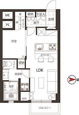 中古マンション-港区六本木5丁目 新規内装リフォーム済の1LDK