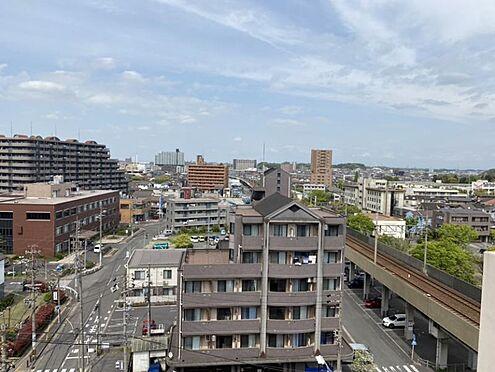 区分マンション-東海市養父町北反田 バルコニーからの眺望です