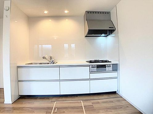 新築一戸建て-名古屋市天白区天白町大字八事字裏山 大きなフライパンやお鍋も安心!収納豊富なキッチン♪