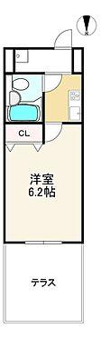 中古マンション-京都市伏見区向島本丸町 間取り