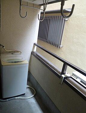 マンション(建物全部)-大阪市天王寺区東上町 洗濯機置き場