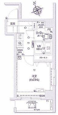 マンション(建物一部)-大田区蒲田5丁目 間取り