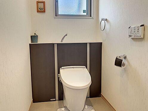 戸建賃貸-知多郡東浦町大字石浜字南ヶ丘 壁掛けの洗浄機能付きトイレ