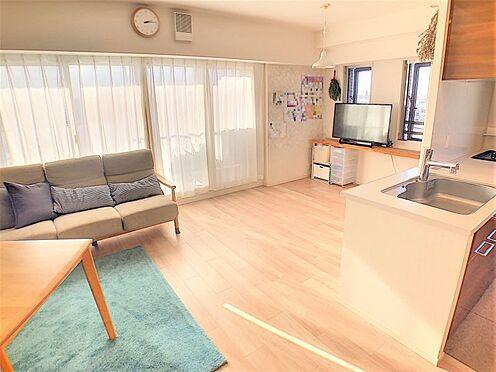 中古マンション-名古屋市名東区社台3丁目 広々約18帖のLDKで開放感がございます!