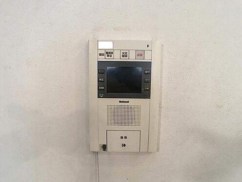 区分マンション-名古屋市中川区助光2丁目 TVモニター付きインターホンで防犯面も考慮されています