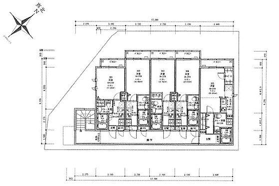 マンション(建物全部)-川崎市麻生区上麻生6丁目 3階間取り図