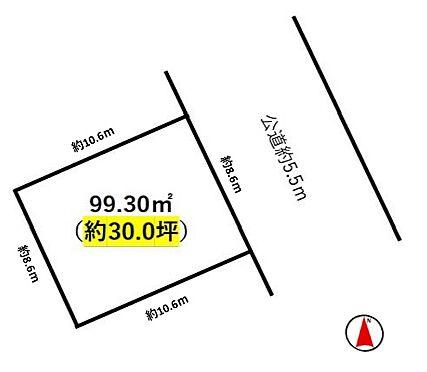 土地-名古屋市名東区勢子坊2丁目 前面道路は広く、車の通りも少ない閑静な住宅街です。