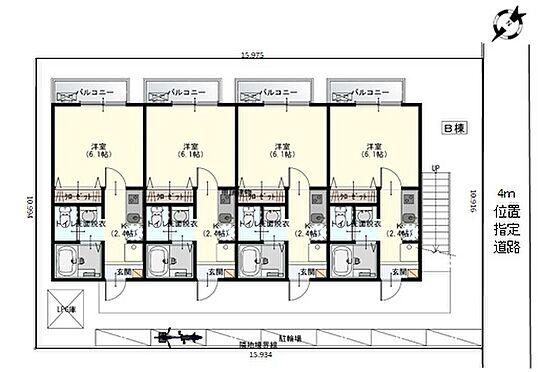 アパート-さいたま市桜区中島2丁目 配置図・平面図