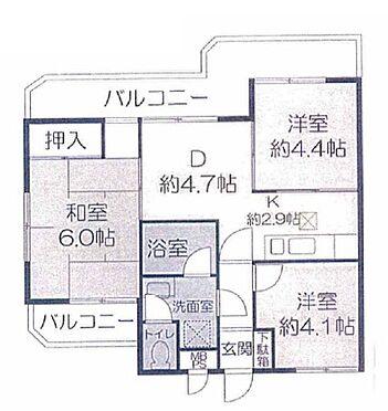 マンション(建物一部)-神戸市東灘区魚崎中町2丁目 間取り
