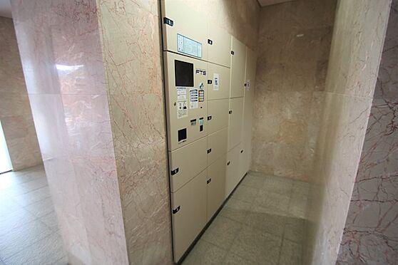 中古マンション-足柄下郡湯河原町宮上 宅配ボックス:あると便利な、使うとやめられない設備です。