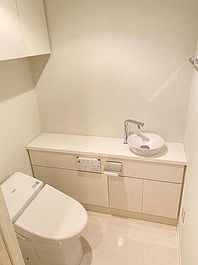 中古マンション-中央区晴海2丁目 手洗付タンクレストイレ