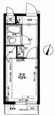 区分マンション-横浜市青葉区しらとり台 間取り