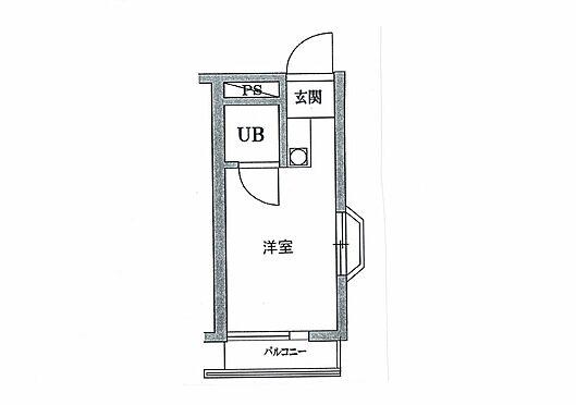 マンション(建物一部)-世田谷区太子堂2丁目 間取り