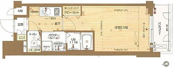 マンション(建物一部)-京都市上京区寺今町 間取り