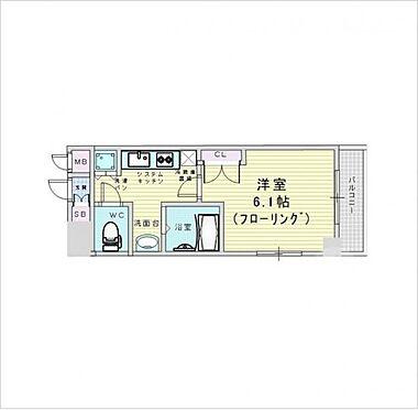 マンション(建物一部)-大阪市北区大淀北1丁目 間取り